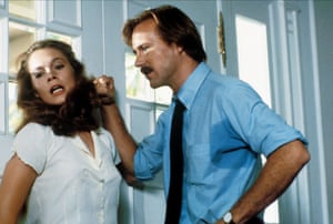 A memorable femme fatale: Turner with William Hurt in Body Heat.