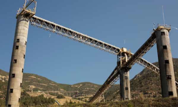 A closed coal mine outside of Paonia, Colorado.