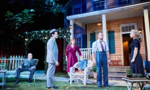 Arthur Miller's All My Sons, directed by Michael Rudman, at the Rose theatre, Kingston.