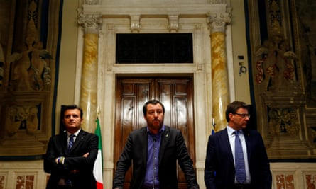Northern League party leader Matteo Salvini 'is secretly salivating at the thought of another election'.