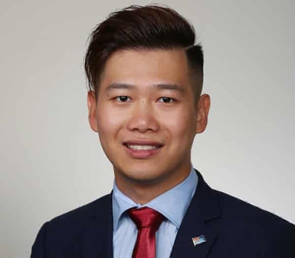 Cumberland councillor Kun Huang.