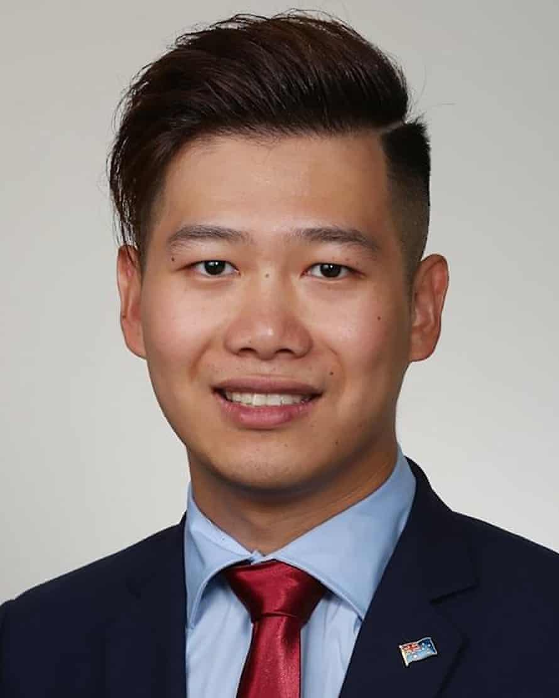 Cumberland City Labor councillor Kun Huang