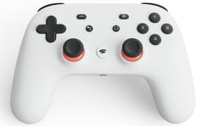 Google Stadia controller. Google will launch a new video game streaming service in 2019.