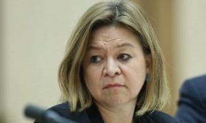 Michelle Guthrie at senate estimates in October