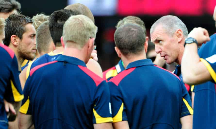 The late Phil Walsh was a big advocate of helping the layman understand the deeper tactical side of AFL football.