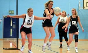 Back to Netball event in Mapperley Sports Village, Nottingham.