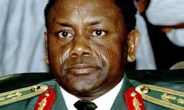 Sani Abacha in 1993