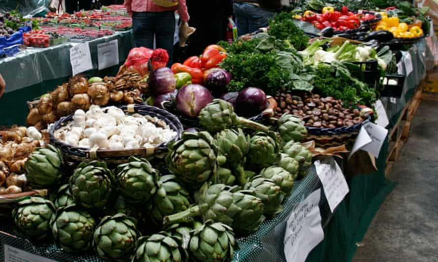 Of 35 'portions' of fruit and vegetables just one has been harvested from the UK and picked by UK or non-EU workers.