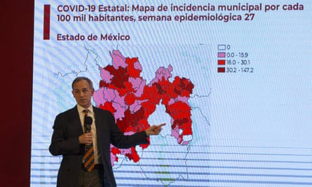 Mexico's Covid-19 tsar, Hugo López-Gatell, has clashed with the president, Andrés Manuel López Obrador, over reopening the economy.