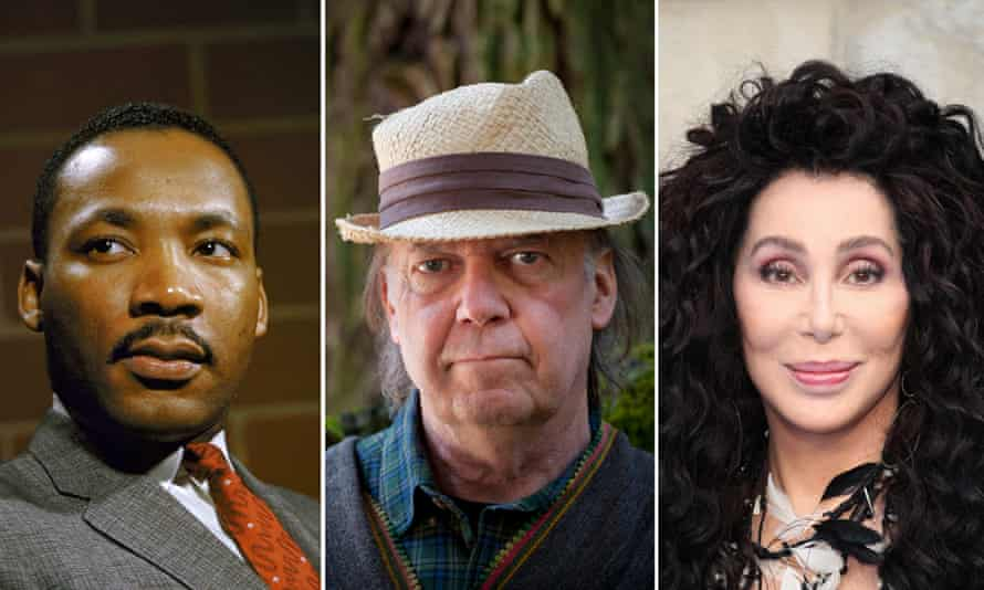 Martin Luther King, Neil Young and Cher, all affected by the Universal warehouse fire.