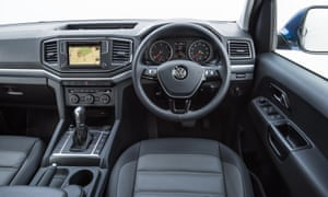 Inside story: the Amarok's interior is comfortable yet durable