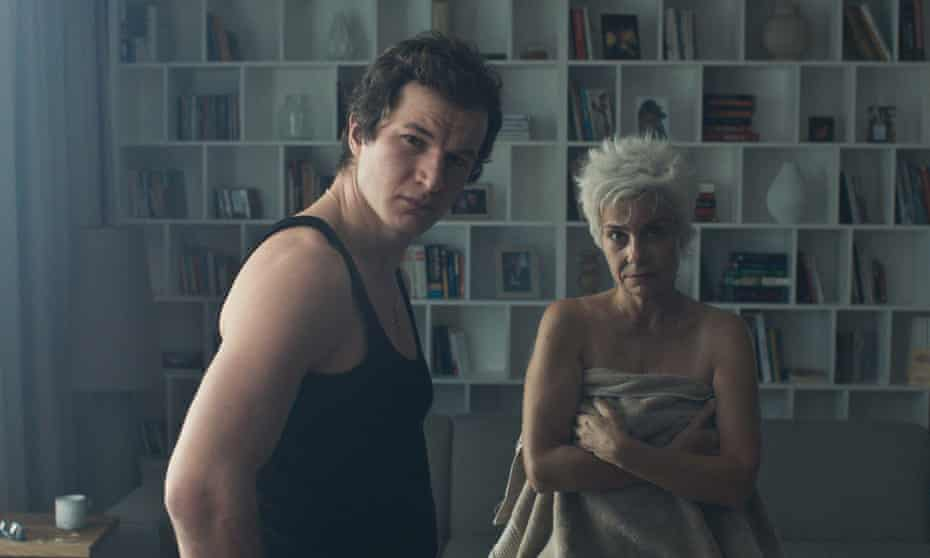 Absorbing … Alec Utgoff and Agata Kulesza in Never Gonna Snow Again.