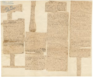 Corrêa do Lago's collection of manuscript fragments that reveal Marcel Proust's working methods.