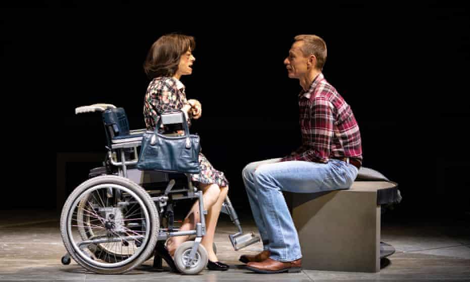Liz Carr with Ben Daniels
