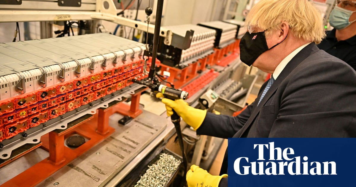 UK battery 'gigafactory' plans huge expansion as electric car demand soars