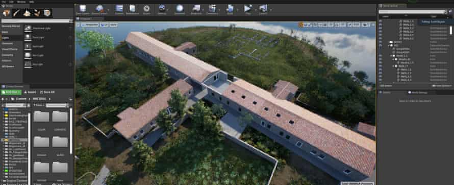 1 ArtLab In Software view of Hauser & Wirth Menorca ArtLab ArtLab, in software exterior view of Hauser & Wirth Menorca created in HWVR