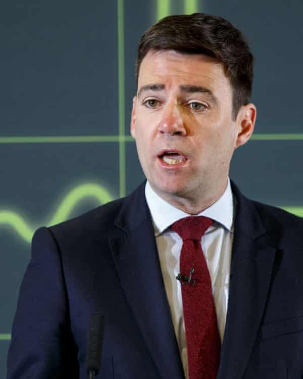 Andy Burnham has been pressing for named patient data to be handed over for weeks.