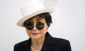 Yoko Ono pictured at the Museum of Modern Art, New York City, 12 May 2015.