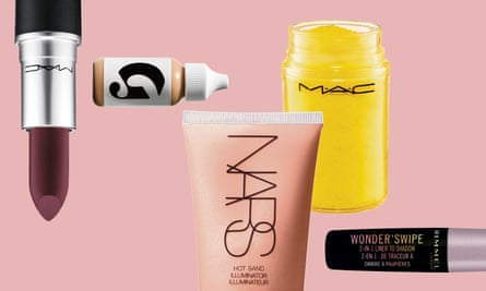 Makeup products used in Misha Meghna's shoot