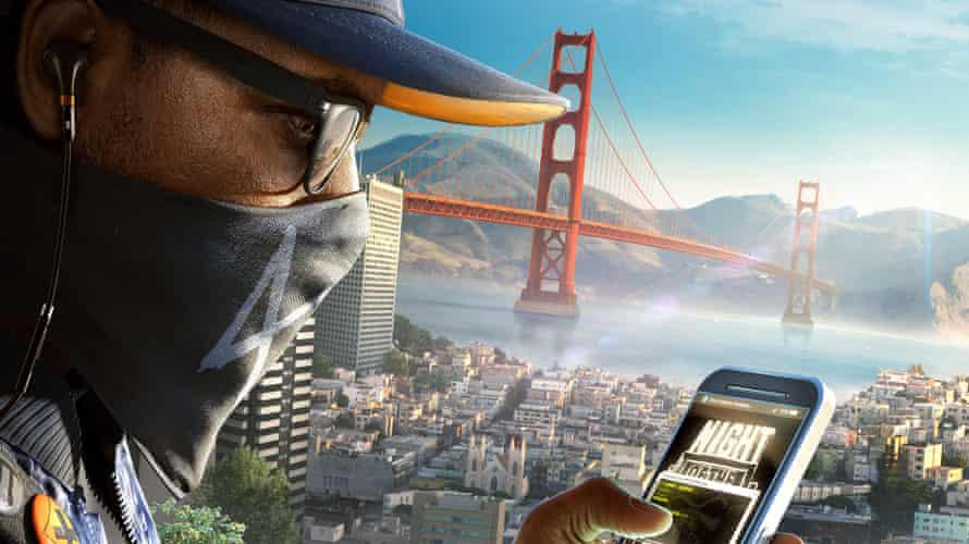 Ubisoft's WatchDogs 2: one of few modern video games to feature a black lead character.