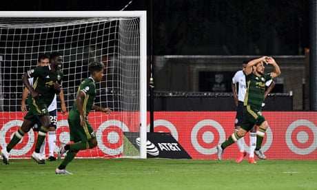 Portland Timbers hold off Philadelphia Union to reach MLS is Back final