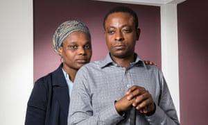 Bamidele Chika Agbakuribe with his wife Emanuella.