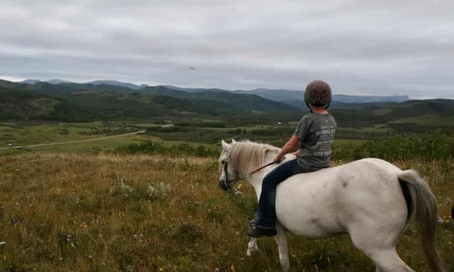 The Blue Bird valley ranch in Alberta.