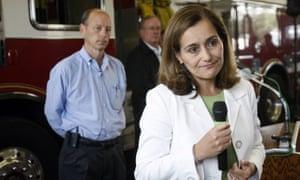 PG&E's chief executive, Geisha Williams, has resigned.