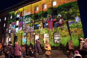 An artwork at Bristol's Arnolfini gallery, Wildlife on the Waterfront, tells the story of people and wildlife in Uganda's oldest national park. It was created by the charity Send a Cow, in partnership with the African conservation charity Tusk and Bristol's Limbic Cinema.