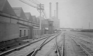 An early 20th century photo looking north towards Ultimo Power House in Sydney.