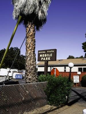Photograph of Buena Vista trailer park