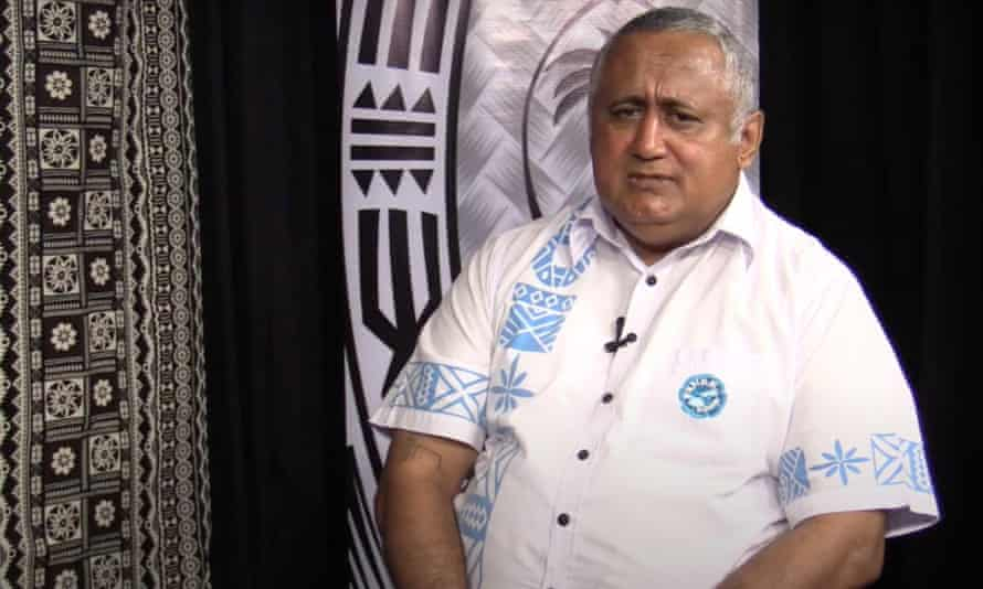 Francis Kean of the Fijian Rugby Union