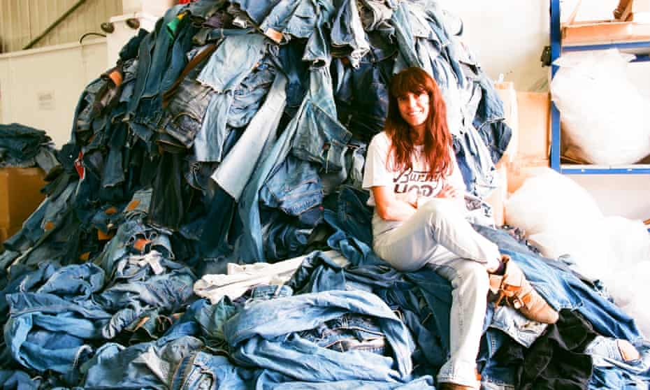 'There are more jeans than people in the world' … E.L.V. Denim founder Anna Foster.