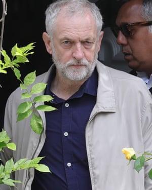 Labour leader Jeremy Corbyn: 'I'm not a personality.'