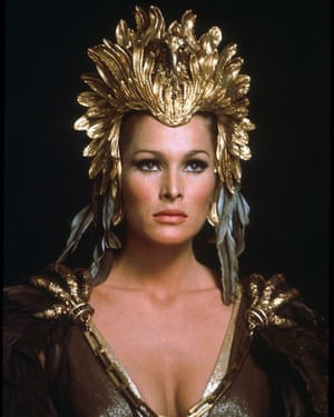 Ursula Andress as Ayesha, in the 1965 Hammer film She