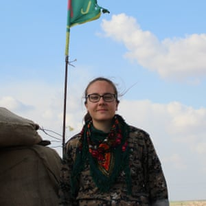 Kimberley Taylor from Blackburn joins the fight against Isis