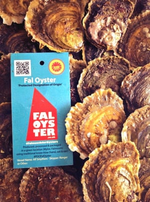 Fal oysters haved joined Cornish clotted cream in gaining PDO status.