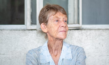 Sister Patricia Fox, 71, at her home in Quezon City.