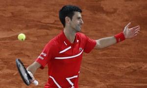Novak Djokovic was blown away by Nadal.