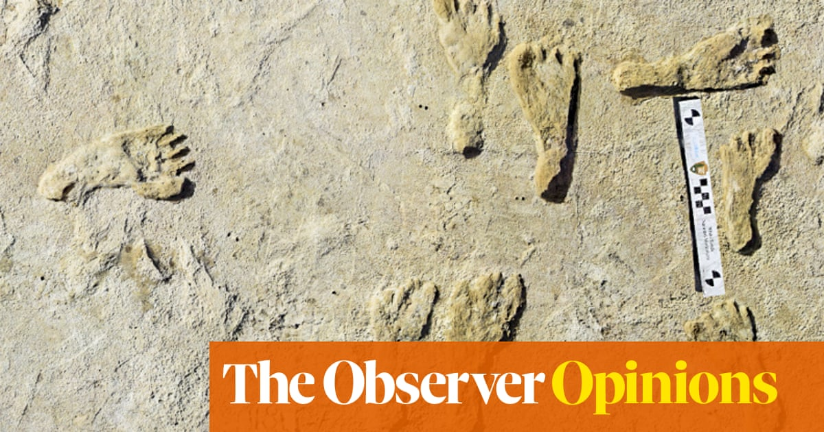 How ancient footprints shed light on America's first teenagers
