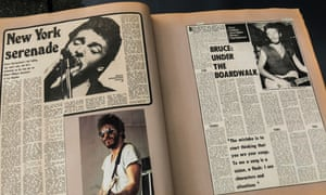 Scrapbook made by Bruce Springsteen's mother, Adele.