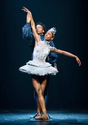 Mthuthuzeli November and Cira Robinson