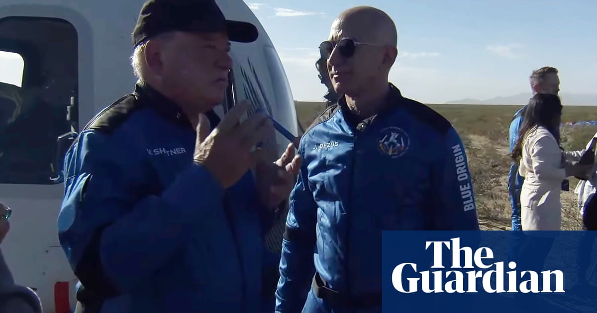 'Most profound experience': William Shatner starstruck by encounter with space – video