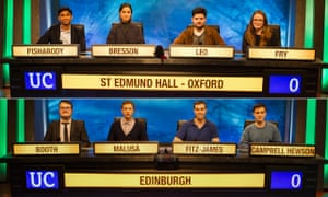 It couldn't have ended on a more thrilling note ... the 2019 University Challenge final.