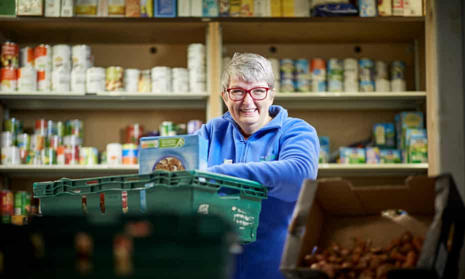 Annette Smith from Morecambe, Lancashire as been nominated for a Guardian Public Services Awards, she set up the Morecambe Bay Foodbank in 2012