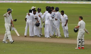 The Sri Lankan cricket team