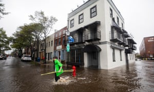 A report on climate change predicted that allowing climate pollution to continue to rise would result in $118bn in damages to coastal property.