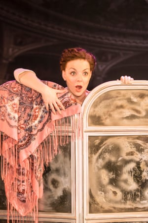 No one would dare rain on her parade … Sheridan Smith in Funny Girl.