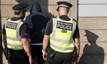 An individual is stopped and searched by police