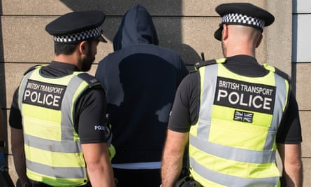 Stop and search operation in London